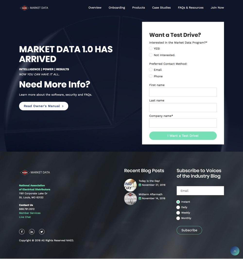 Market-Data-Home