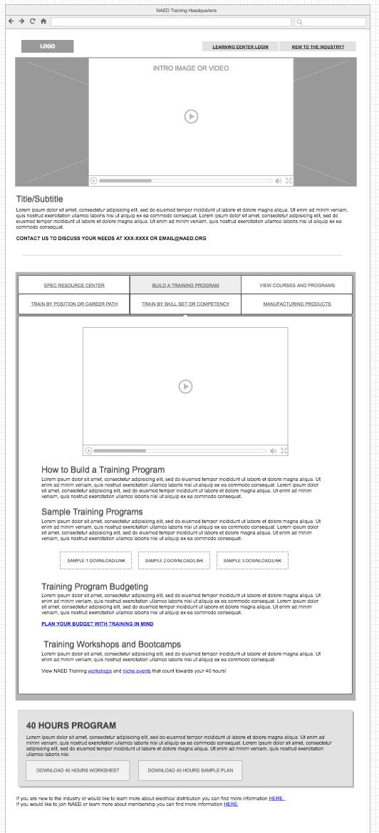 build a program