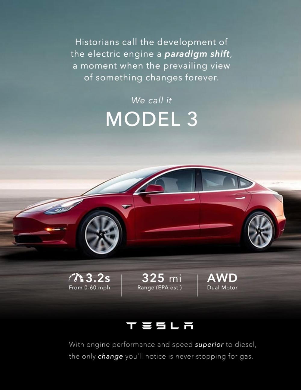 Tesla-ad