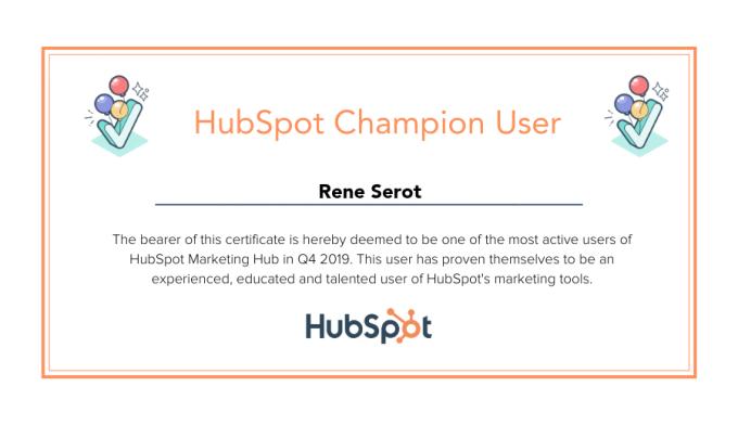 Hubspot-Champion-User